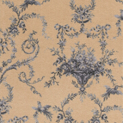 Brintons Classic Florals Toile Empire Blue Broadloom - 10/27836 from Kings Interiors - the Ideal Place for Luxury Handmade Furniture and Quality Home Flooring Best Fitted Price in the UK