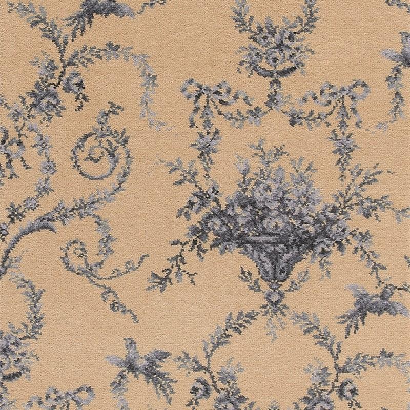 Brintons Classic Florals Toile Empire Blue Broadloom 10