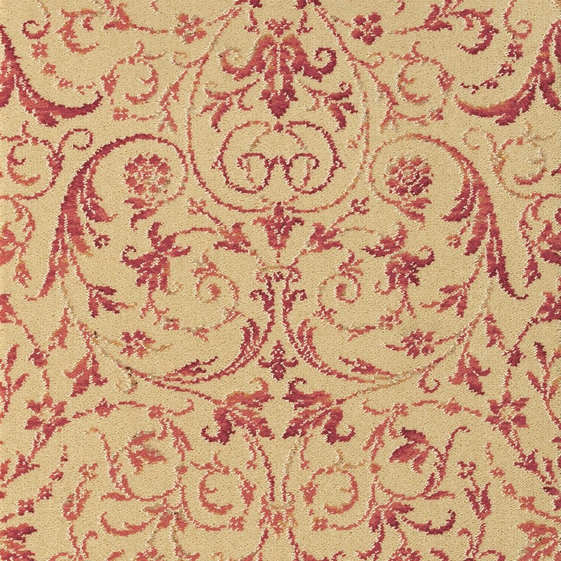 Brintons Laura Ashley Malmaison Raspberry 292 29866 Kings