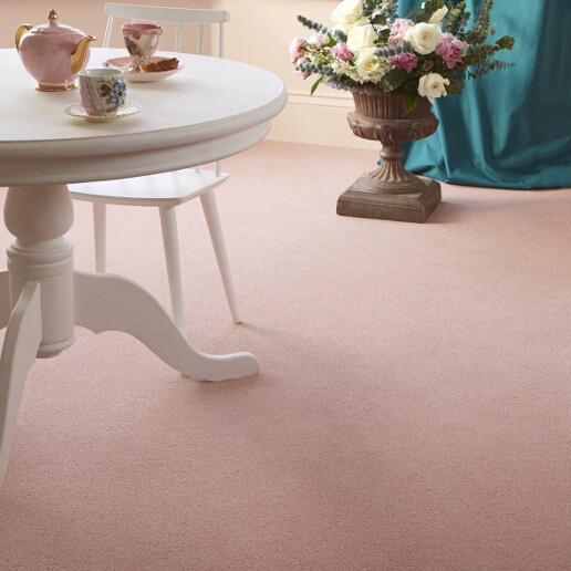 Brintons Bell Twist Collection Dusky Rose Roomset