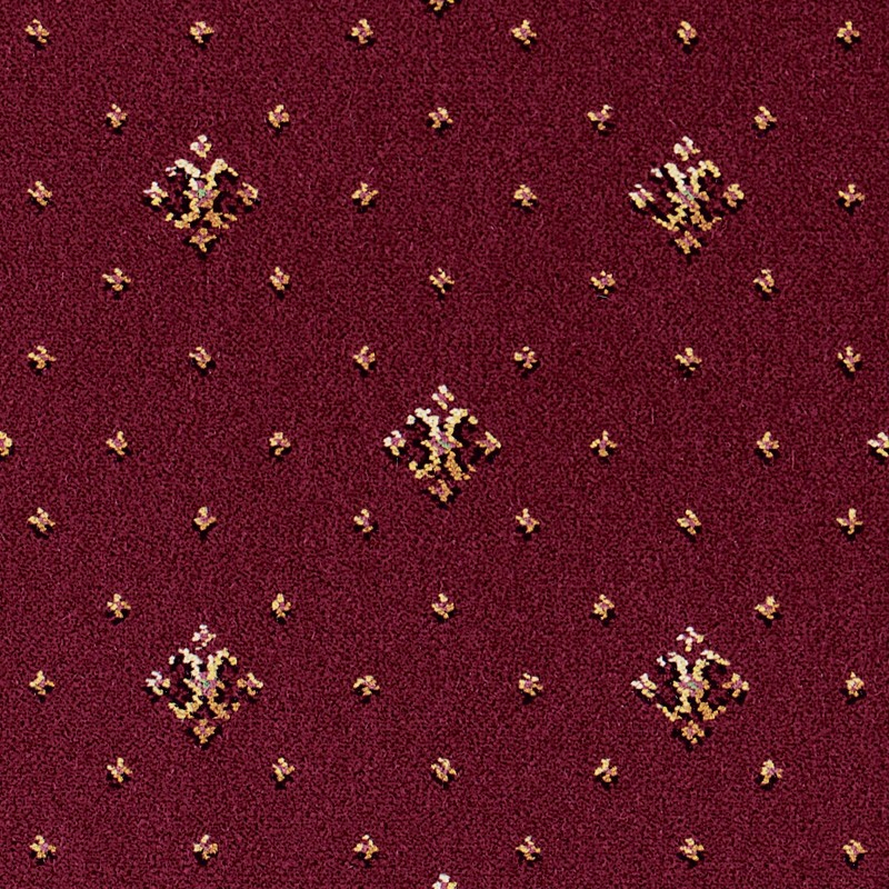 Brintons Regina Burgundy Coronet 31 38498 Kings