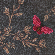 Brintons Timorous Beasties Noir Ruskin Butterfly - 8/50155 from Kings Interiors - the Ideal Place for Quality Furniture and Flooring Best Price in the UK