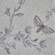 Brintons Timorous Beasties Silver Ruskin Butterfly - 10/50156 from Kings Interiors - the Ideal Place for Quality Furniture and Flooring Best Price in the UK