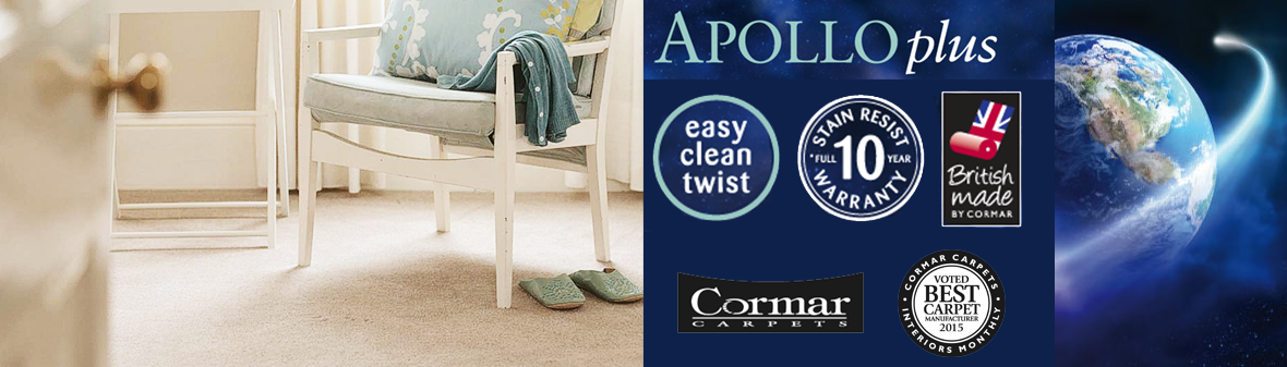 Cormar Carpets Apollo Plus- Free Fitting 25 Miles Radius of Nottingham