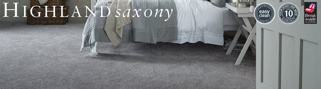 Cormar Carpets Highland Saxony - At Kings Carpets the home of quality carpets at unbeatable prices - Free Fitting 25 Miles Radius of Nottingham
