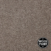 Cormar Carpets Home Counties Plains Cairn Grey - Wool Blend Twist - Free Fitting Within 25 Miles of Nottingham