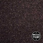 Cormar Carpets Home Counties Plains Espresso - Wool Blend Twist - Free Fitting Within 25 Miles of Nottingham