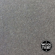 Cormar Carpets Home Counties Plains Gunmetal - Wool Blend Twist - Free Fitting Within 25 Miles of Nottingham
