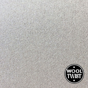 Cormar Carpets Home Counties Plains Silver Cloud - Wool Blend Twist - Free Fitting Within 25 Miles of Nottingham