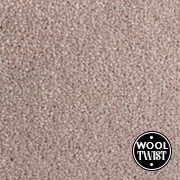 Cormar Carpets Home Counties Plains Tusk - Wool Blend Twist - Free Fitting Within 25 Miles of Nottingham