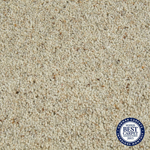 Cormar Carpets Natural Berber Twist Morning Dew - Wool Blend Twist - Free Fitting Within 25 Miles of Nottingham