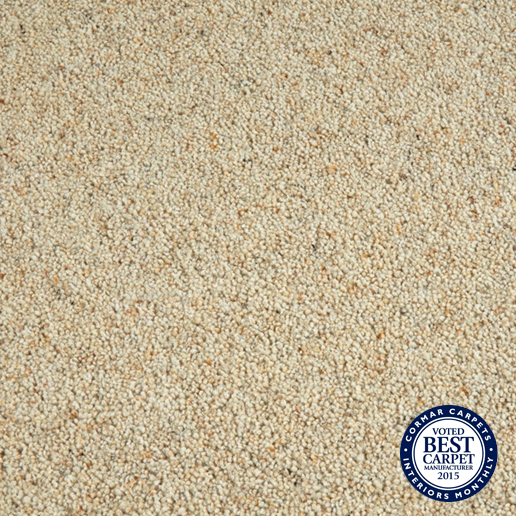 Cormar Carpets Natural Berber Twist Parsnip