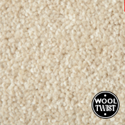 Cormar Carpets New Oaklands Cornish Cream - Wool Blend Twist Carpet - Free Fitting Within 25 Miles of Nottingham