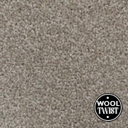 Cormar Carpets New Oaklands Dormouse - Wool Blend Twist Carpet - Free Fitting Within 25 Miles of Nottingham