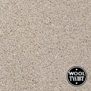 Cormar Carpets New Oaklands Rice - Wool Blend Twist Carpet - Free Fitting Within 25 Miles of Nottingham