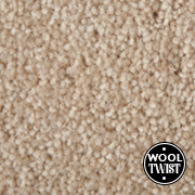 Cormar Carpets New Oaklands Straw - Wool Blend Twist Carpet - Free Fitting Within 25 Miles of Nottingham