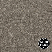 Cormar Carpets New Oaklands Thames Grey - Wool Blend Twist Carpet - Free Fitting Within 25 Miles of Nottingham