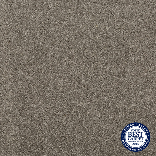 Cormar Carpets New Oaklands Thames Grey