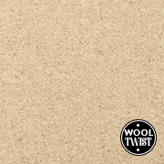 Cormar Carpets New Oaklands Vanilla - Wool Blend Twist Carpet - Free Fitting Within 25 Miles of Nottingham