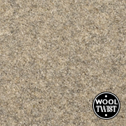 Cormar Carpets New Oaklands White Pepper - Wool Blend Twist Carpet - Free Fitting Within 25 Miles of Nottingham