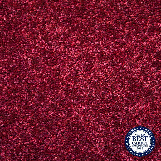 Cormar Carpets Sensation Twist Scarlet