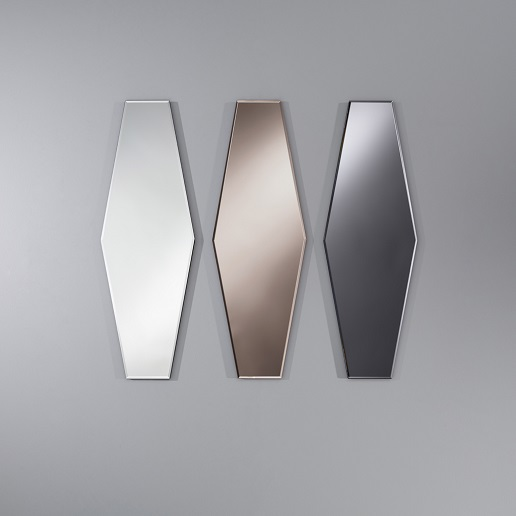 Deknudt Homka Aurelie Mirror Available in Clear, Grey or Bronze