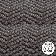 """Jacaranda Carpets Natural Weave Herringbone Charcoal, from Kings Interiors - the ideal place to buy Furniture and Flooring. Call Today - 01158258347."""