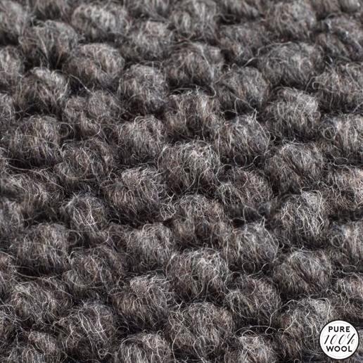 Jacaranda Carpets Natural Weave Hexagon Charcoal
