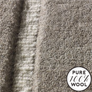 """Jacaranda Carpets Velvet Stripe Pewter and Ivory 37, from Kings Interiors - the ideal place to buy Furniture and Flooring. Call Today - 01158258347."""