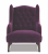 John Sankey Buckingham Chair in Tate Velvet Fabric