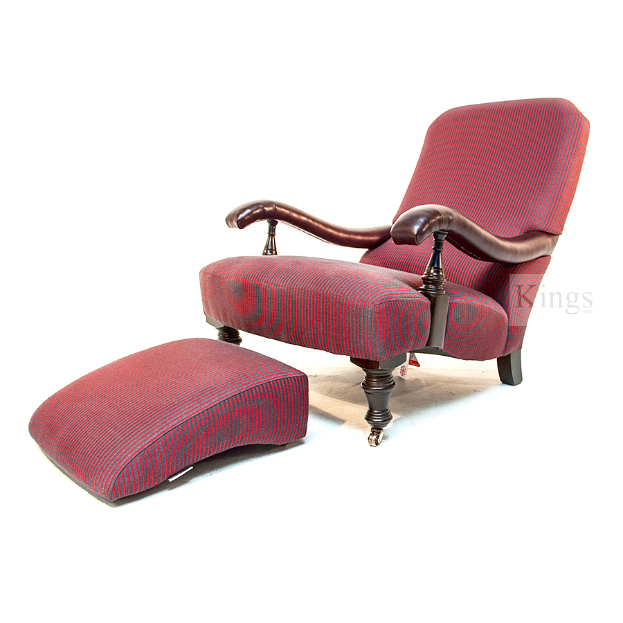 John Sankey Byron Chaise Chair Kings Interiors