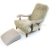 John Sankey Byron Chaise Chair and Leather Foot Stool