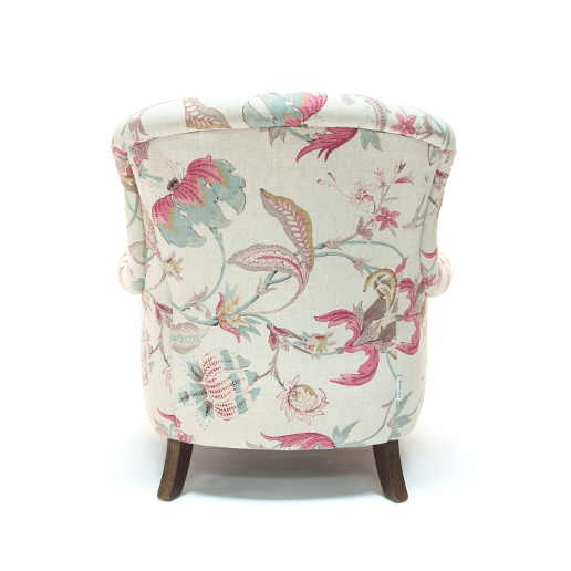 John Sankey Crinoline Chair in Omoko Antique Fabric