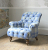 John Sankey Crinoline Chair in Wool Fabric