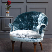 John Sankey Ferdinand Chair from Kings Interiors - the Ideal Place for Luxury Handmade British Upholstery, Furniture and Flooring, Best Prices in the UK.