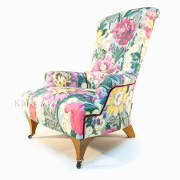John Sankey Hawthorne Chair In Floral Cover