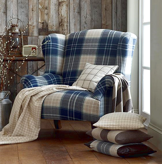 John Sankey Moliere Wing Chair in Customer's Own Material