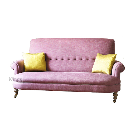 John Sankey Partridge Sofa in Linen Fabric