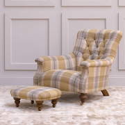 John Sankey Slipper Chair from Kings Interiors - the Ideal Place for Luxury Handmade British Upholstery, Furniture and Flooring, Best Prices in the UK.