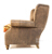 John Sankey Tolstoy Chair in Full Leather with Contrast Fabric Seat
