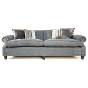 John Sankey Tolstoy Grand Sofa from Kings Interiors - the ideal place for luxury handmade British upholstery, bespoke furniture and top brand flooring at best prices in UK
