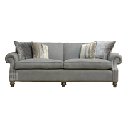 John Sankey Tolstoy Small Sofa from Kings Interiors - the ideal place for luxury handmade British upholstery, bespoke furniture and top brand flooring at best prices in UK