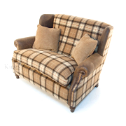 John Sankey Tosca Snuggler from Kings Interiors - the ideal place for luxury handmade British upholstery, bespoke furniture and top brand flooring at best prices in UK Product Code	John Sankey Tolstoy Small Sofa