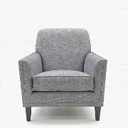 John Sankey Tuxedo Club Chair from Kings Interiors - the Ideal Place for Luxury Handmade British Upholstery, Furniture and Flooring, Best Prices in the UK.