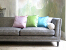 John Sankey Tuxedo Grand Sofa in Hudson Nero Fabric with Scatter Cushions