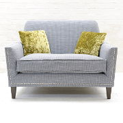 John Sankey Tuxedo Club Small Sofa from Kings Interiors - the ideal place for luxury handmade British upholstery, bespoke furniture and top brand flooring at best prices in UK