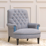 John Sankey Crawford Chair from Kings Interiors - the Ideal Place for Luxury Handmade British Upholstery, Furniture and Flooring, Best Prices in the UK.