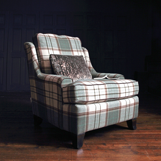 John Sankey Voltaire Chopin Chair in Cello Birch Fabric