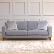 John Sankey Voltaire Classic Back Large Sofa from Kings Interiors - the ideal place for luxury handmade British upholstery, bespoke furniture and top brand flooring at best prices in UK