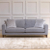 John Sankey Voltaire Sofa in Edgar Granite Fabric
